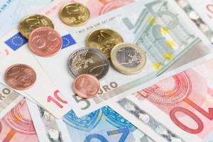 Pièces en billets en euros