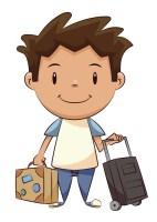 Tom part en voyage