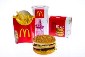 menu McDo