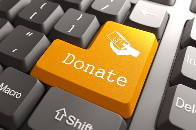 Bouton clavier Donate