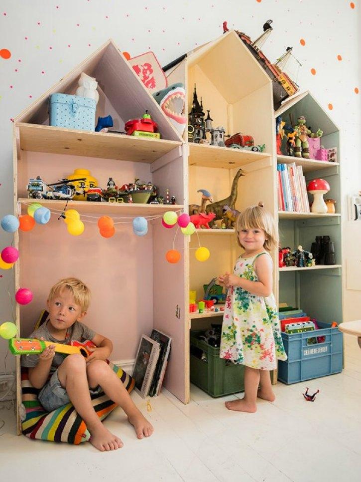 Interieur & kids   Gedeelde kinderkamer voor hippe kids (Shared kids room) - Woonblog StijlvolStyling.com