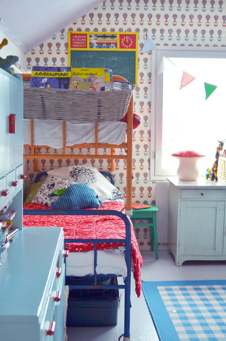Modern Kids Rooms With Bunk Beds Petit Amp Small