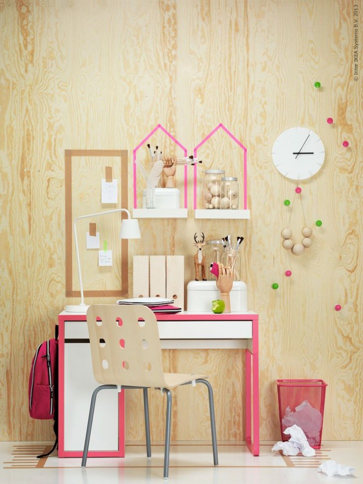 Workspaces For Kids Micke Desk By Ikea Petit Amp Small