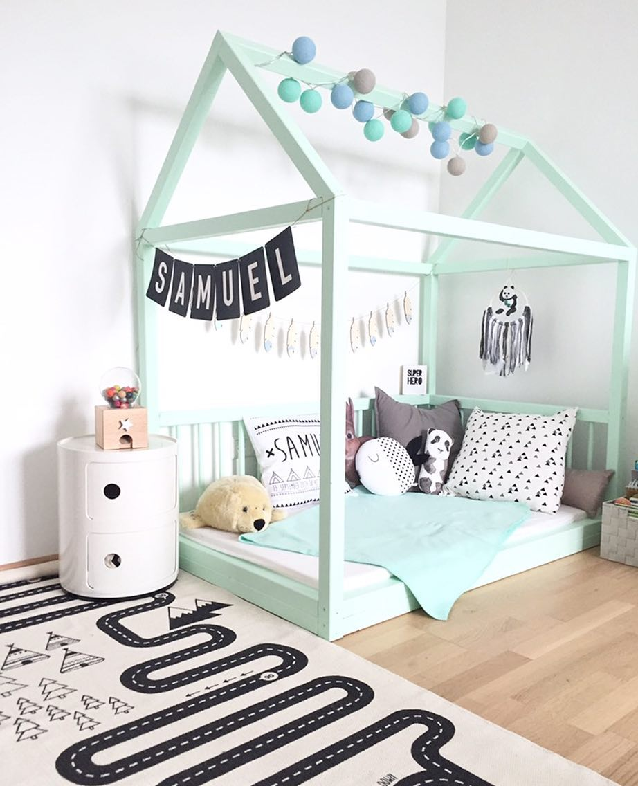 green decor ideas for a boys room