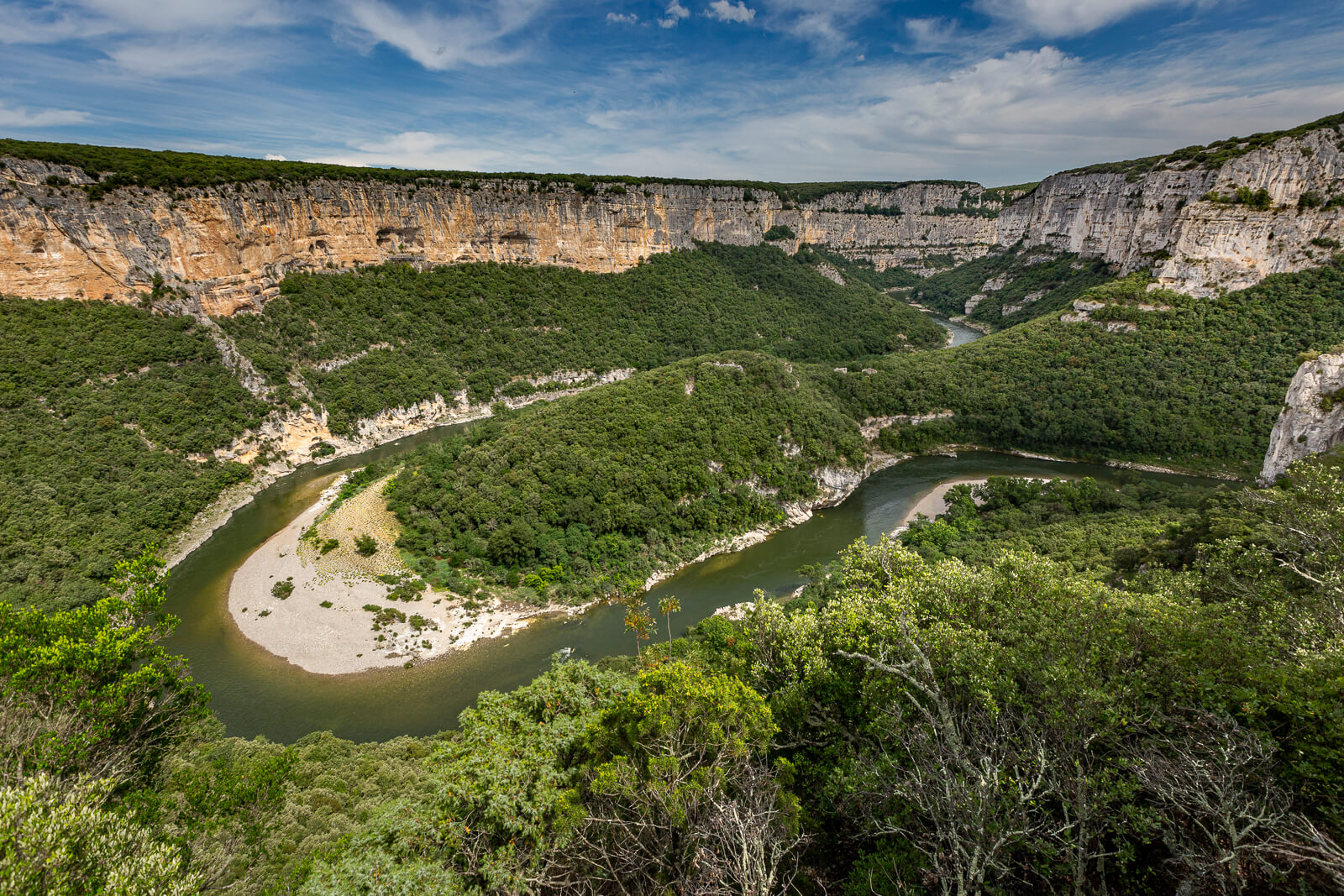 Panorama Gorges Ardèche