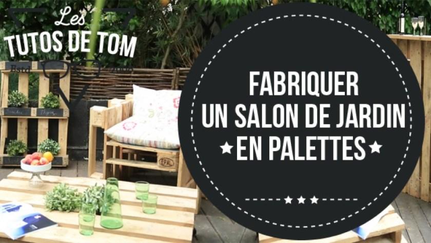 salon de jardin palette tuto canap palettes. Black Bedroom Furniture Sets. Home Design Ideas