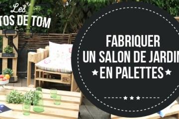 Salon De Jardin Palette Tuto