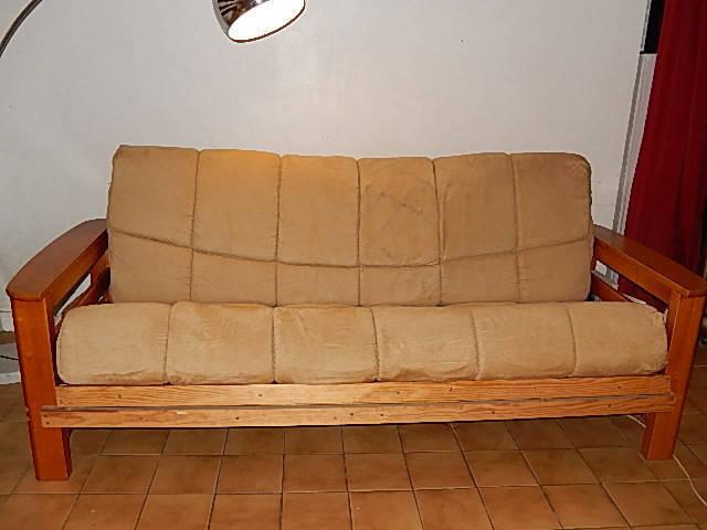 Canape Convertible En Bois