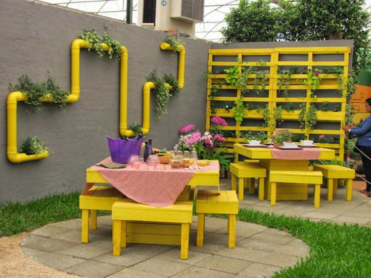 Fabriquer Un Salon De Jardin En Palette