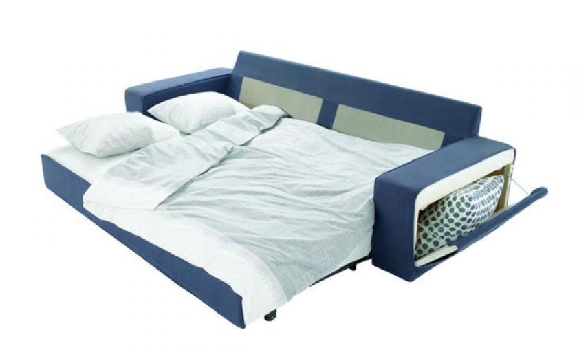 canapé lit convertible couchage quotidien - canapé palettes.