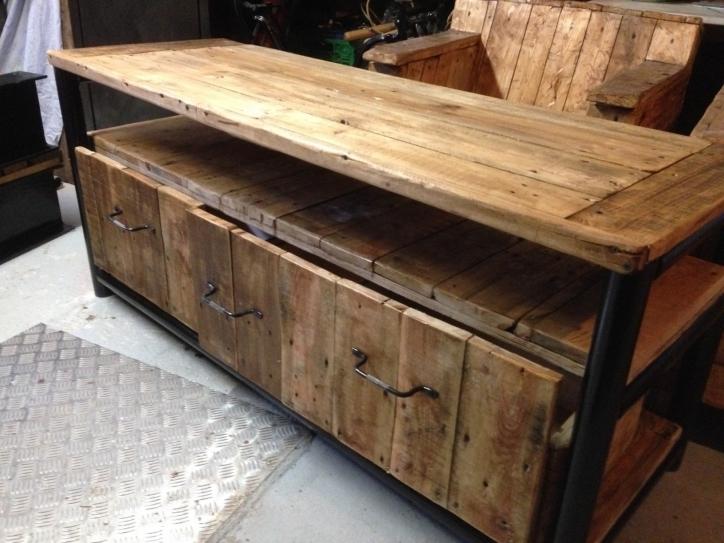meubles palettes en bois