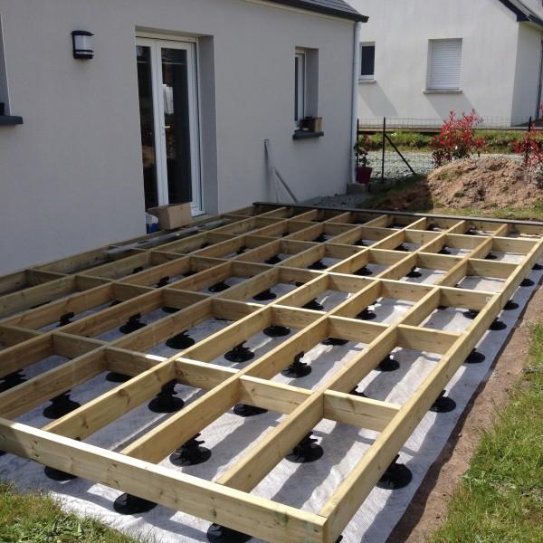 réaliser une terrasse en palette