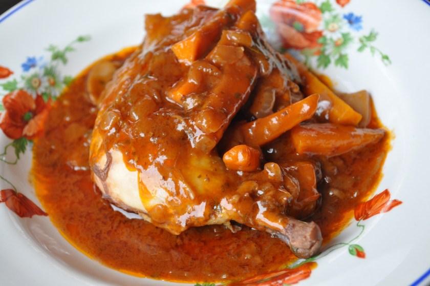 recette de poulet en cocotte