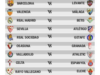 match real madrid calendrier