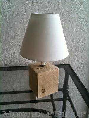 création avec palettes bois