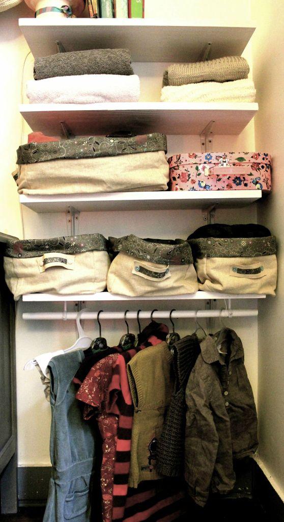réorganiser sa chambre