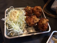Fried Chicken balls, the restaurant signature dish