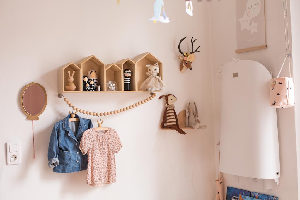 chambre-enfant-fille-pastel-kids-room-pink-gold8 - Petit Champignon ...