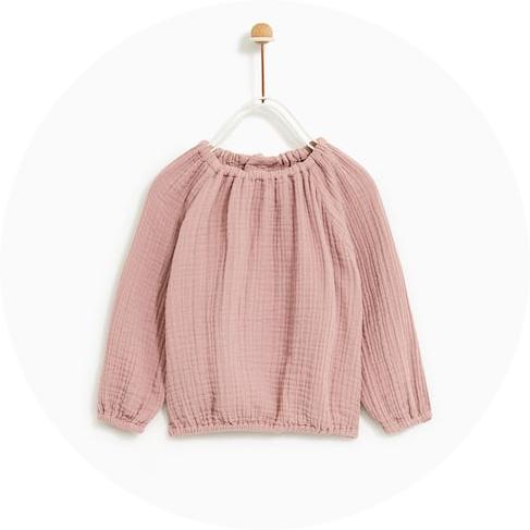 blouse-zara-rose