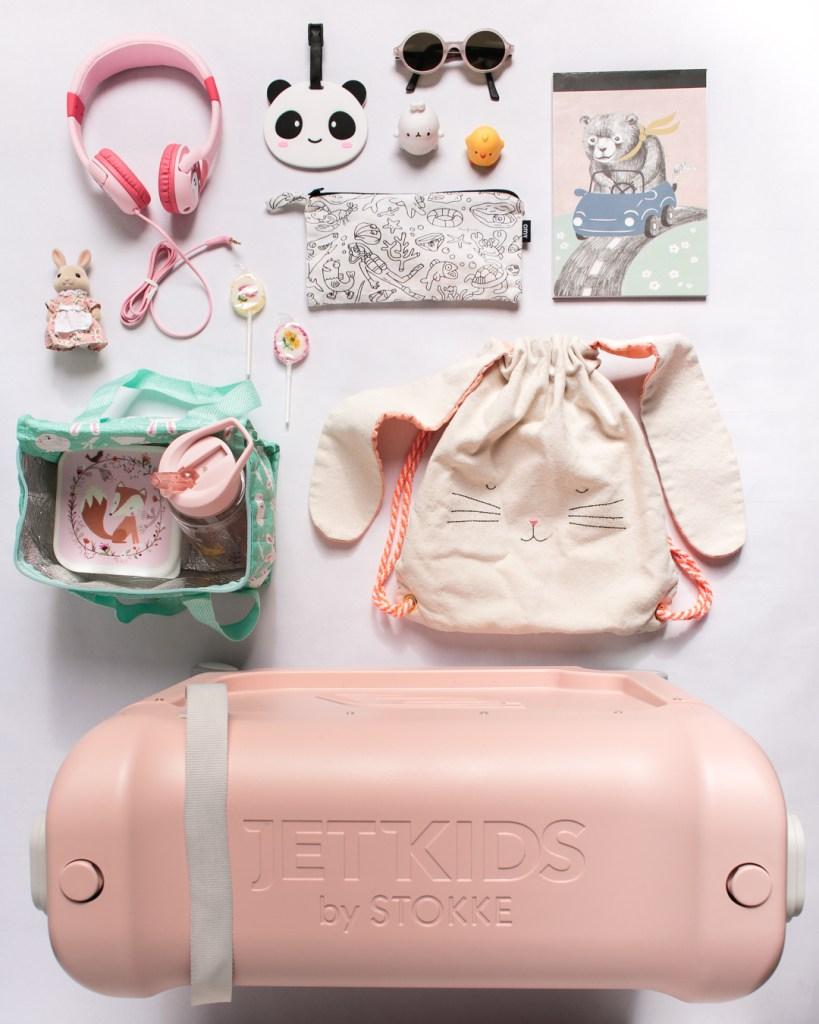 jetkids-bedbox-stokke-travel-kids-pink-lemonade-omy-lunch-box-activites-avion-enfant