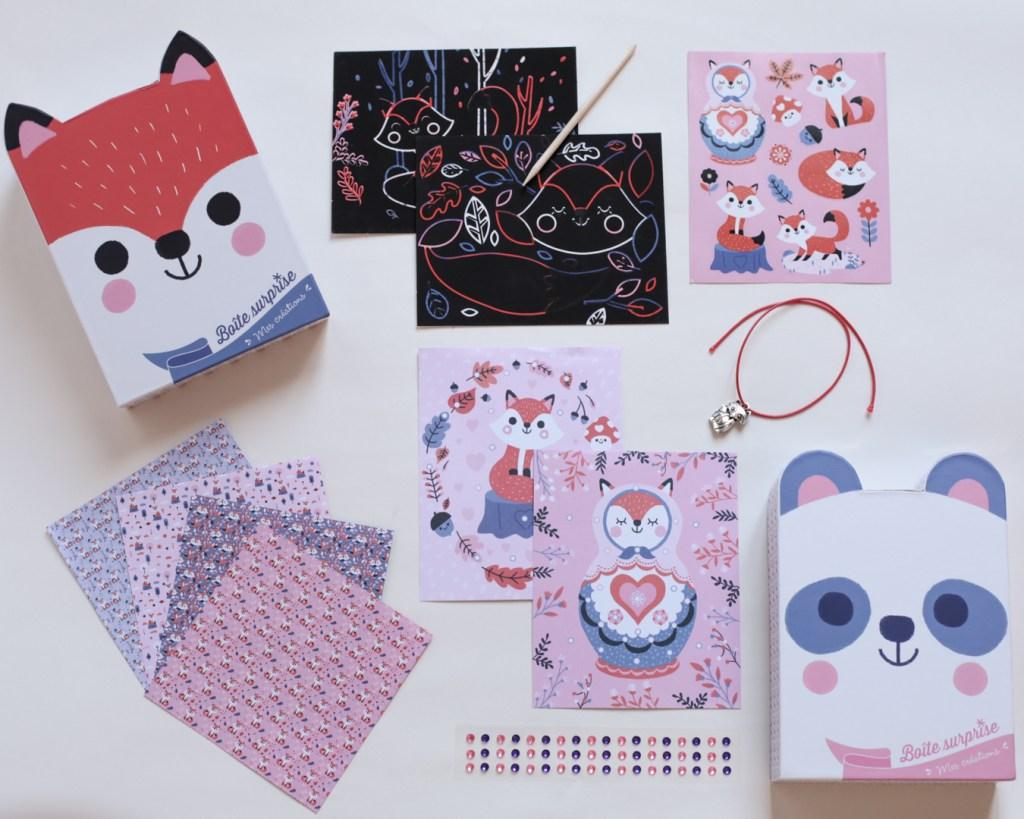 boite-surprise-mes-creations-grund-panda-renard-activite-enfant-4-ans