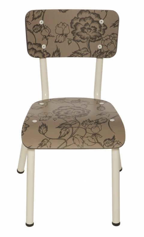chaise-fleurs-taupe-les-gambettes-enfant