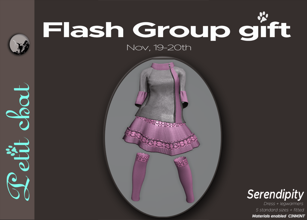 New flash groupgift is out : Serendipity