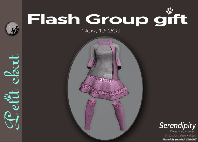 New flash groupgift is out : Serendipity graphic
