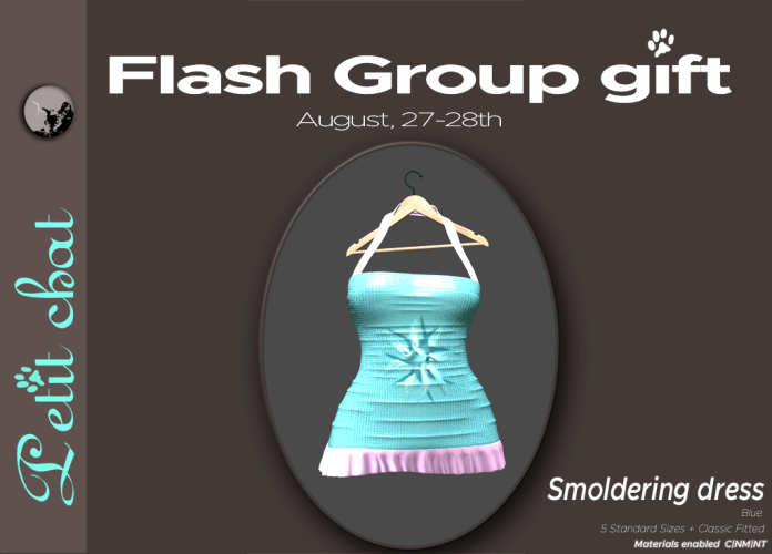 Sunday again ! And a new flash groupgift ! graphic