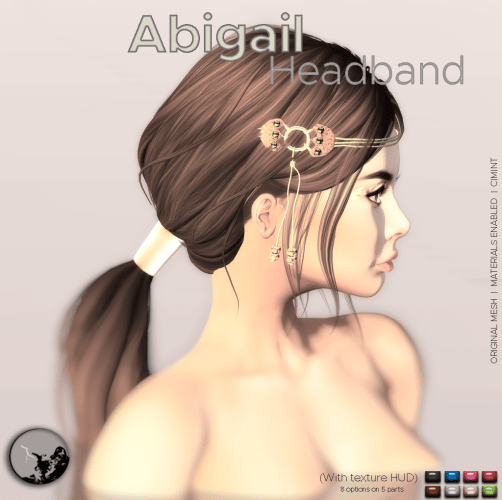 Abigail headband @ the Chapter Four graphic