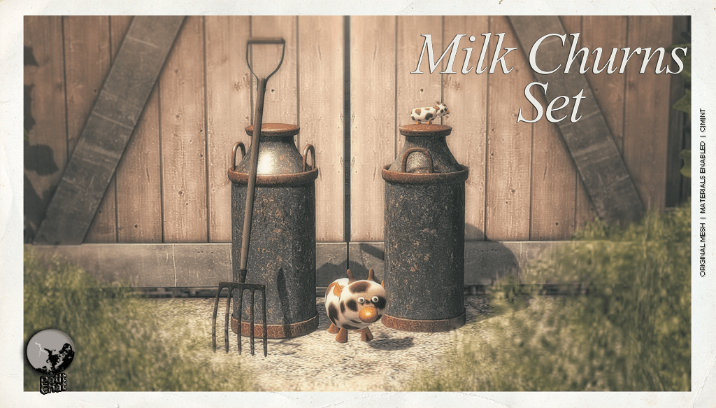 Milk Churns Set @ The Boardwalk Event