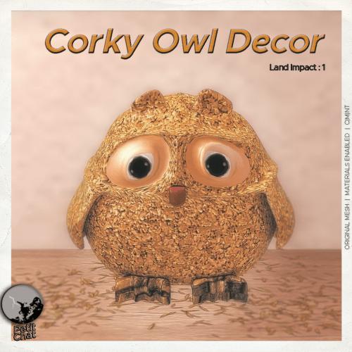 Corky Owl @ The Phantastical Phantasm Hunt graphic