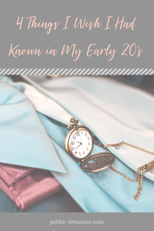 4 Things I Wish I Had Known in My Early 20's | Tips to set yourself up for success in your mid and late 20's #early20s #advice #motivation