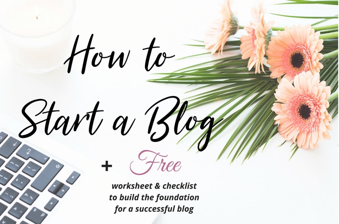 Build the Foundation for a Successful Blog