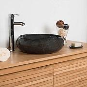 10 Vasques Noires Originales Et De Bonne Qualite Pour Votre Salle De Bain Petite Salle De Bain