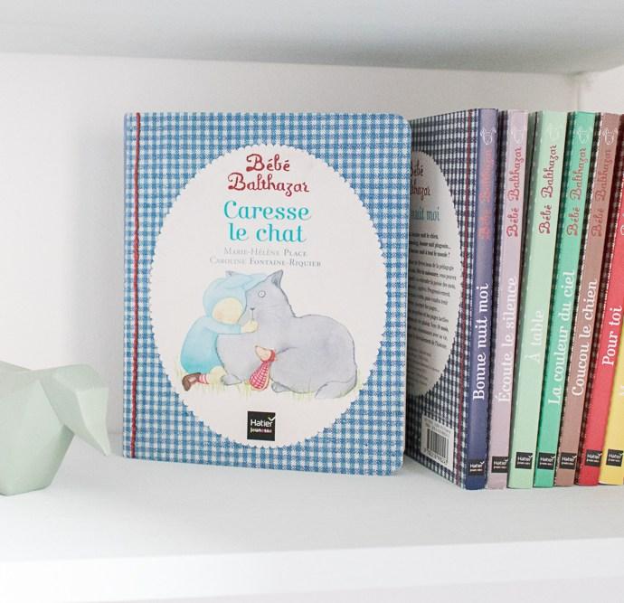 Les livres Bébé Balthazar issus de la pédagogie Montessori