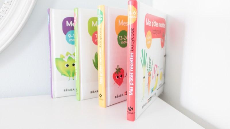 La diversification alimentaire avec les livres Mes p'tites recettes Babycook