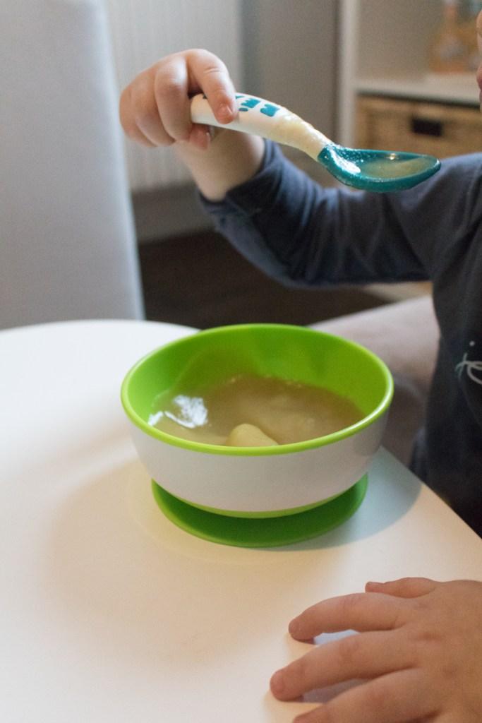 Les bols avec ventouse pour faciliter les repas