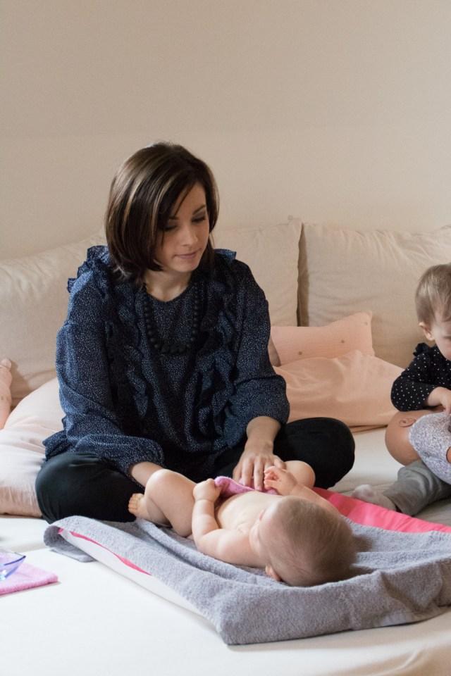 Massage en famille