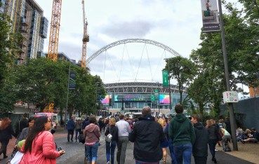 Wembley Stadium for Coldplay