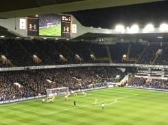 Spurs vs Hull City at White Hart Lane