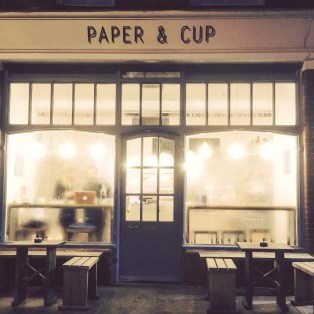 My favourite cosy cafe - Paper & Cup