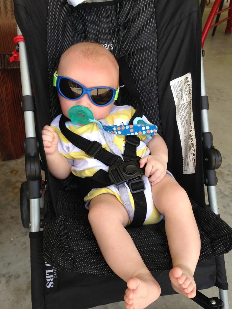 La poussette, un bon moyen pour gérer  les pleurs de bébé