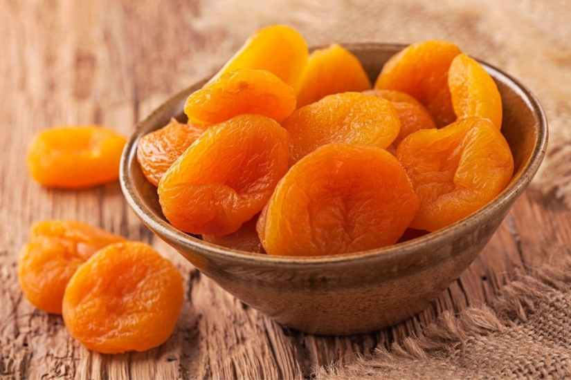 Abricots secs, une source de fibre et de potassium