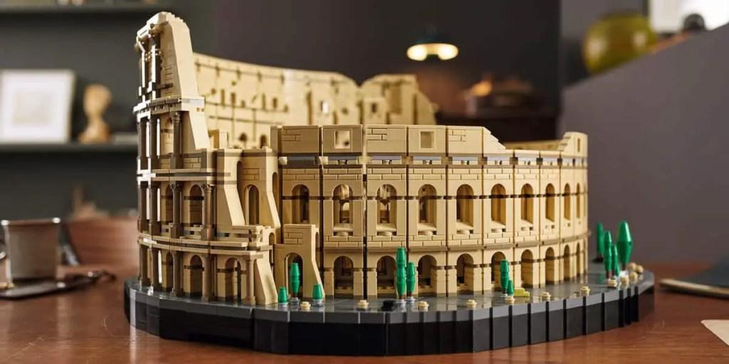 Le Colisée avec son nombre record de pièces fait partie des meilleurs sets Lego