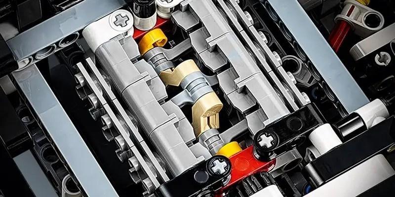 Le soin apporté aux détails font de la Porsche 911 RSR un des meilleurs sets Lego