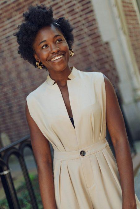 Portrait of Black girl