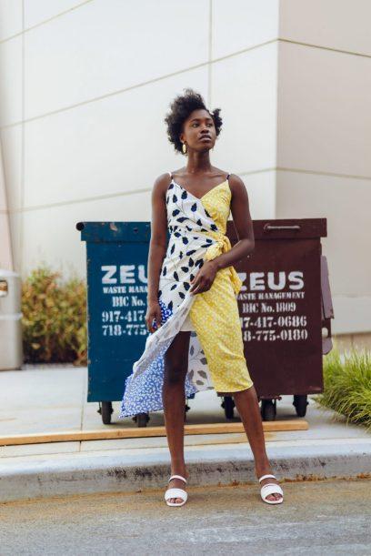 Yumi Kim Bond Street Asymmetrical Dress