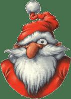 – Père Noël, c'est chiant comme job..! Jugez plutôt….. Avec cette famille recomposée, imaginez mon casse tête pour choisir les cadeaux pour Noël….!