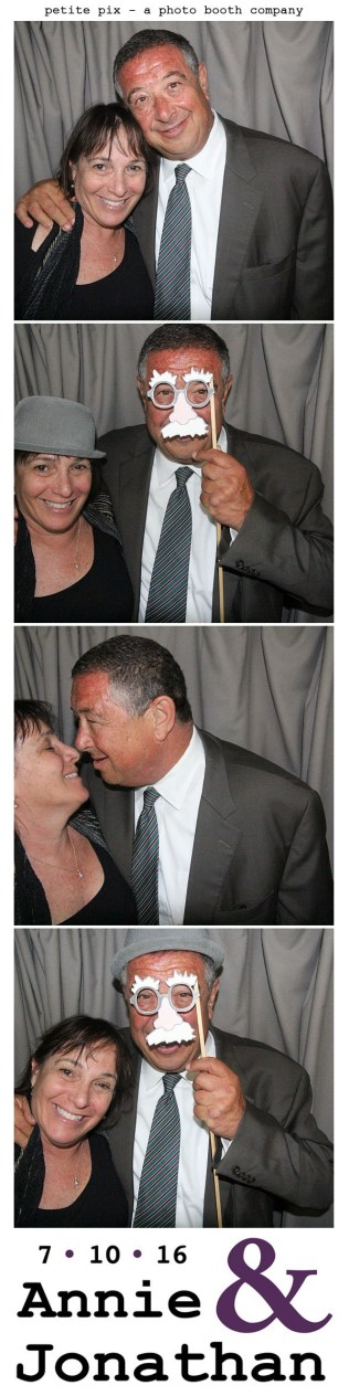 Petite Pix Classic Photo Booth at the Cicada Club in Downtown Los Angeles for Annie and Jonathan's Wedding 17